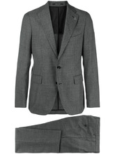 Фото two piece slim-fit suit