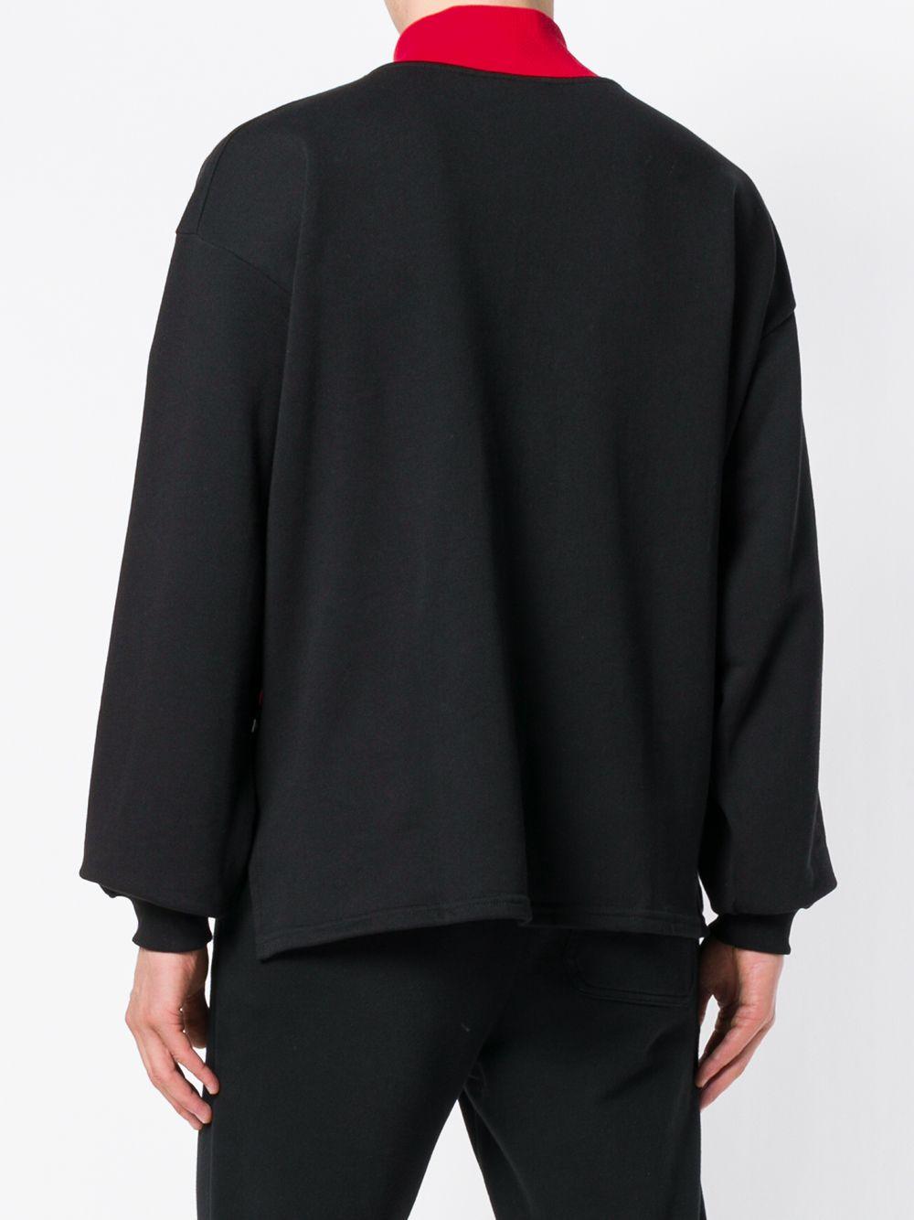 GCDS | logo zipped up sweatshirt | Clouty