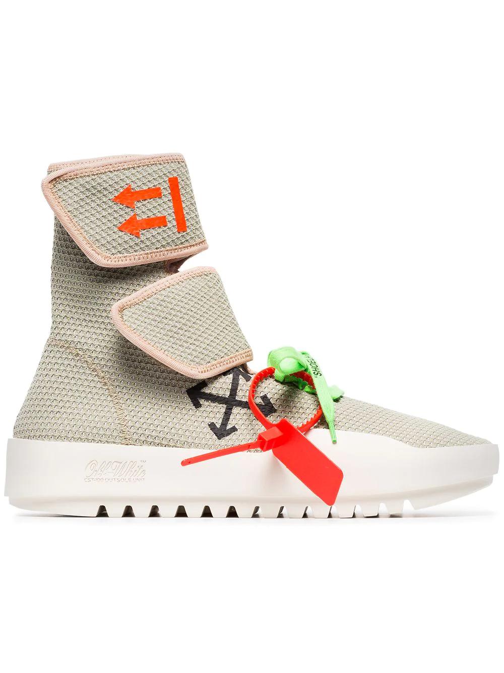 Off-White | Off-White кроссовки на липучках | Clouty