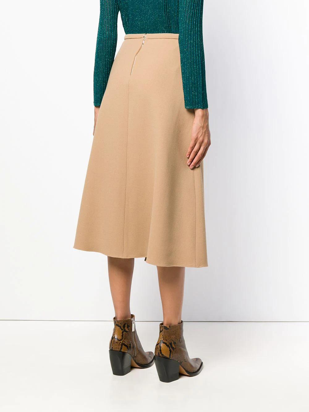 Rochas | flared midi skirt | Clouty