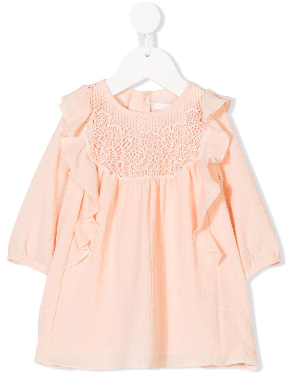 Chloé Kids | ruffled dress | Clouty