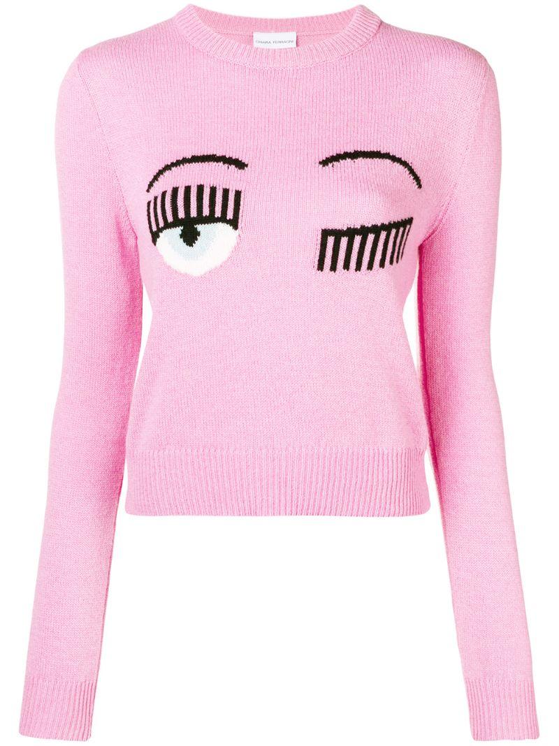 Chiara Ferragni | flirting knit sweater | Clouty