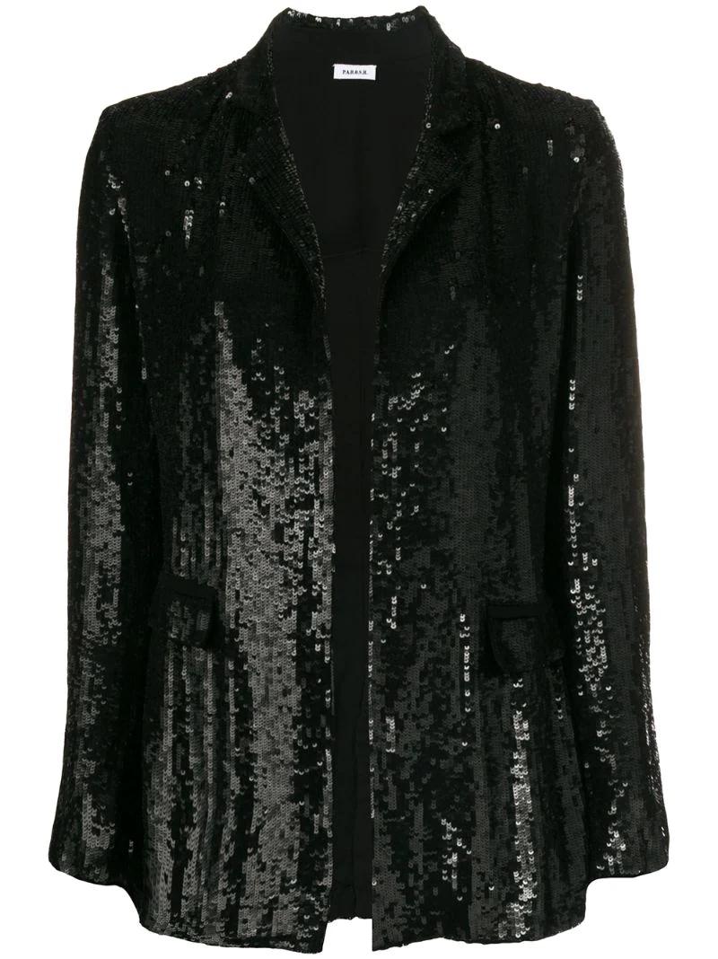 P.A.R.O.S.H. | sequin blazer | Clouty