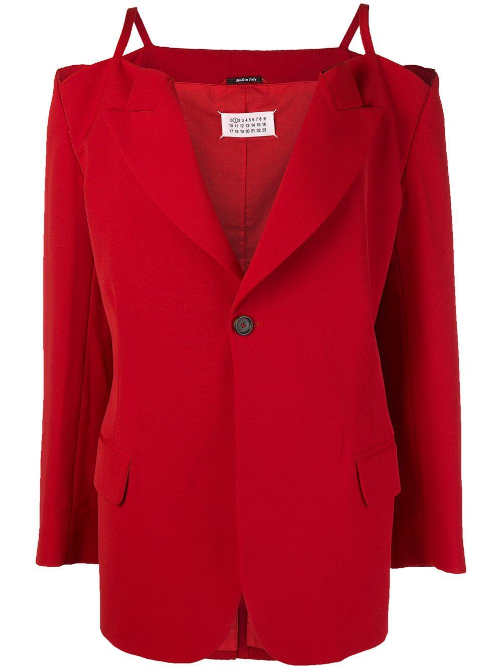 Maison Margiela | пиджак на тонких лямках-спагетти | Clouty