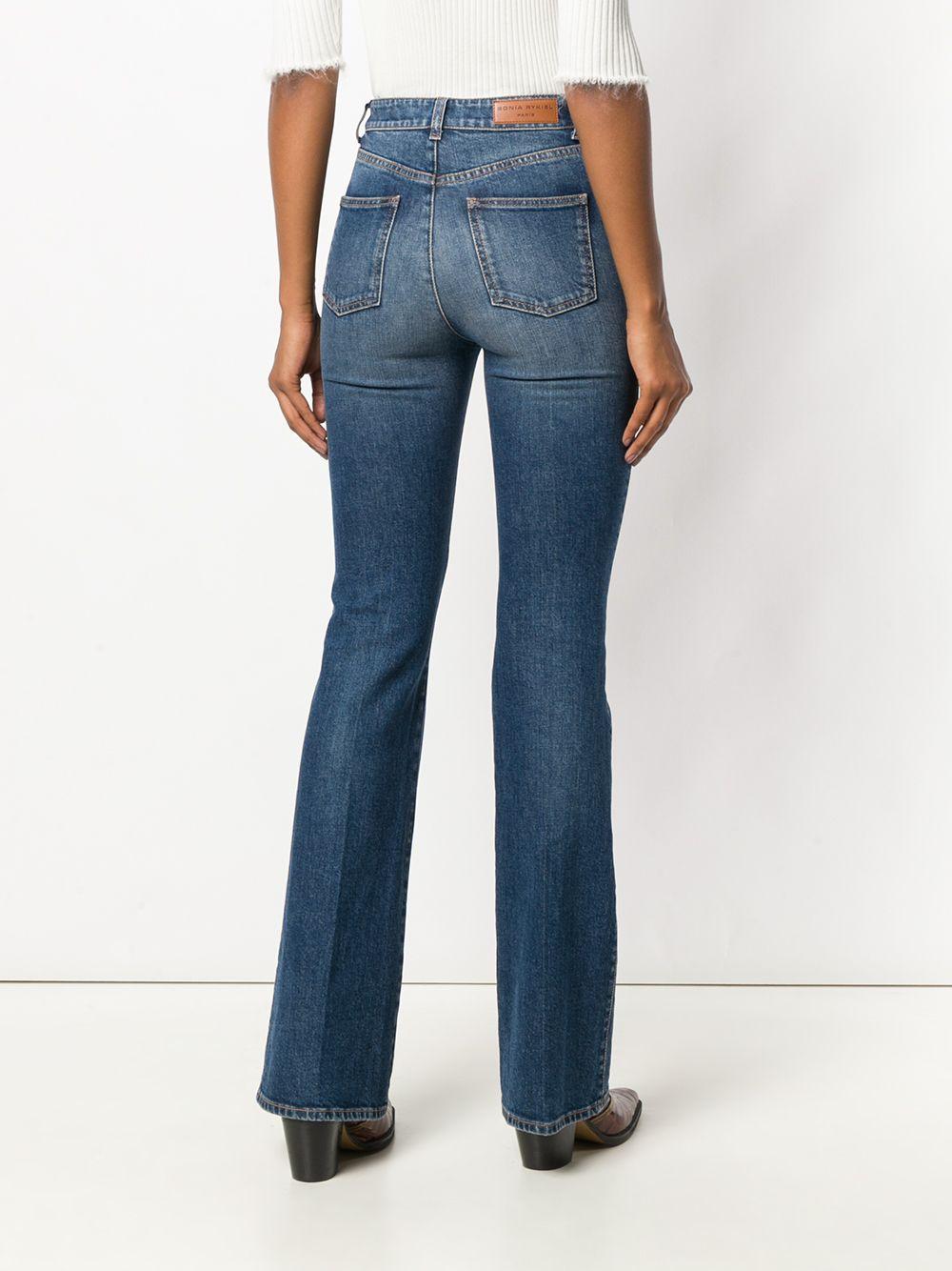 Sonia Rykiel | джинсы с высокой талией | Clouty
