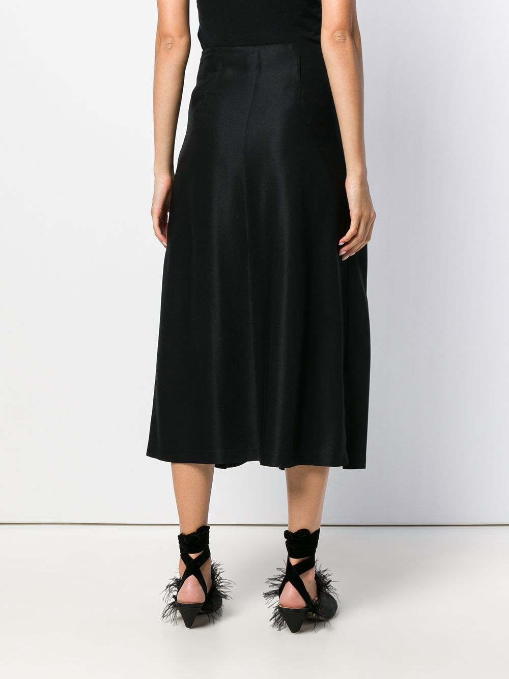 Sara Lanzi | pleated midi skirt | Clouty