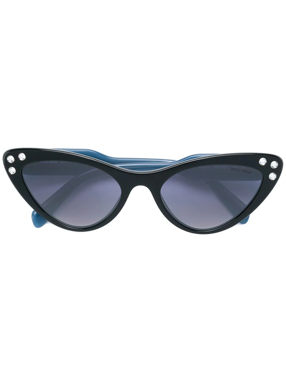 MIU MIU | cat-eye crystal sunglasses | Clouty