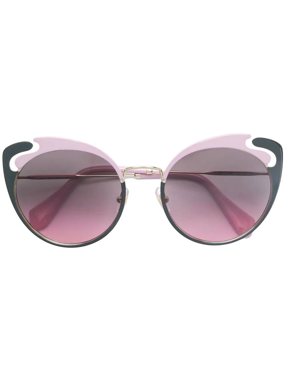 MIU MIU | cat-eye frame sunglasses | Clouty