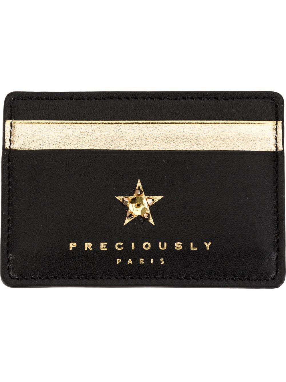 Preciously | star embellished cardholder | Clouty