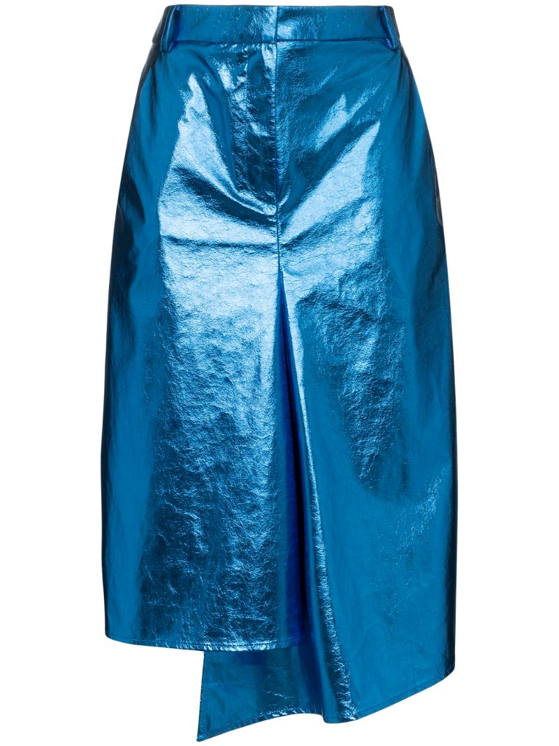 TIBI | юбка миди асимметричного кроя | Clouty