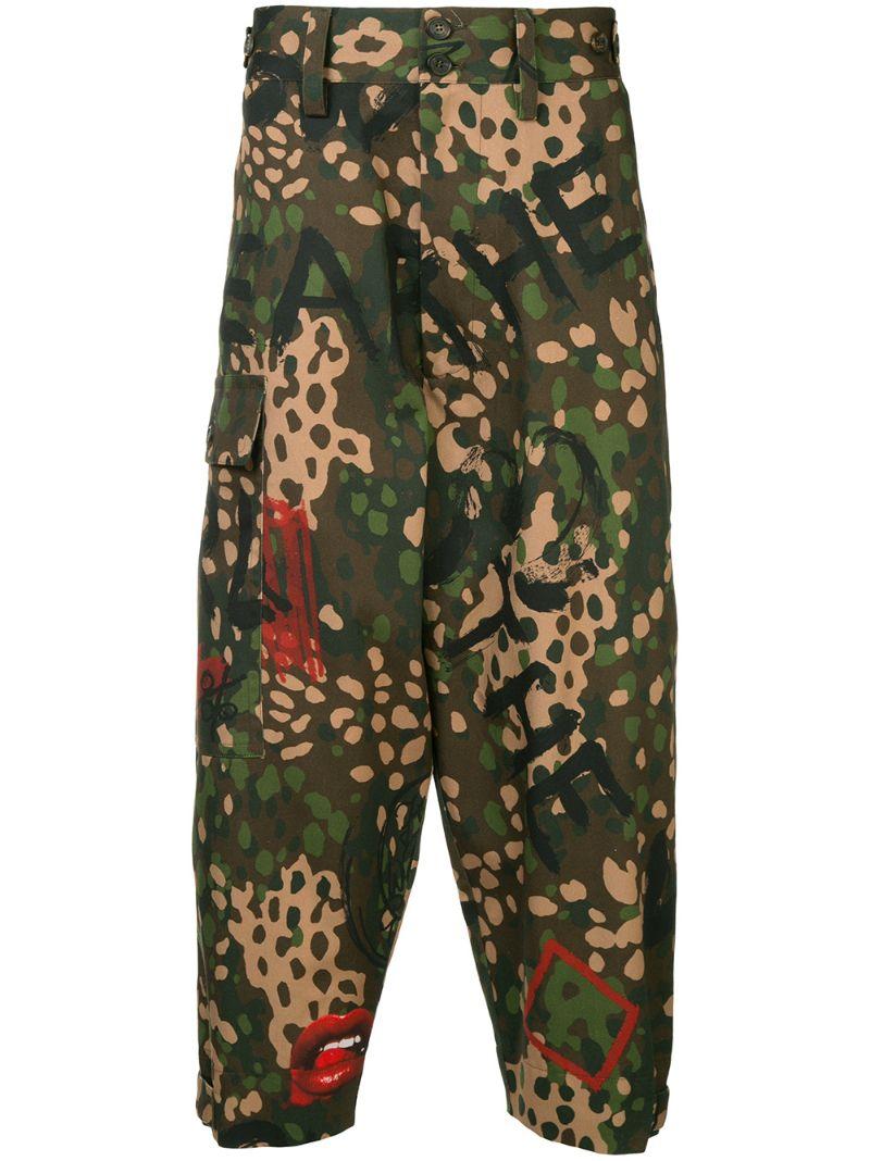 Vivienne Westwood | брюки в стиле милитари | Clouty