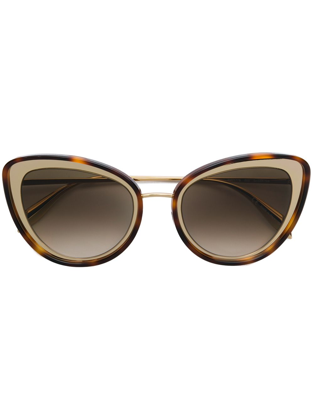 Alexander McQueen | gradient cat eye sunglasses | Clouty