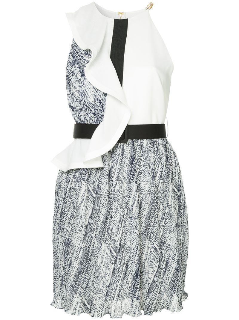Self-Portrait | короткое платье с поясом | Clouty