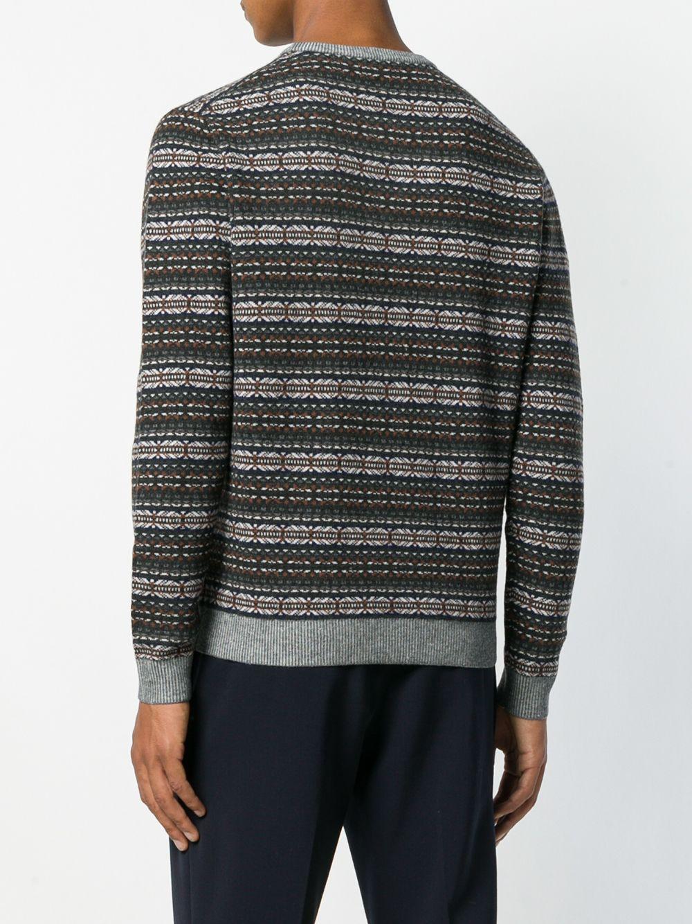 Altea | вязаный свитер с узором интарсия | Clouty
