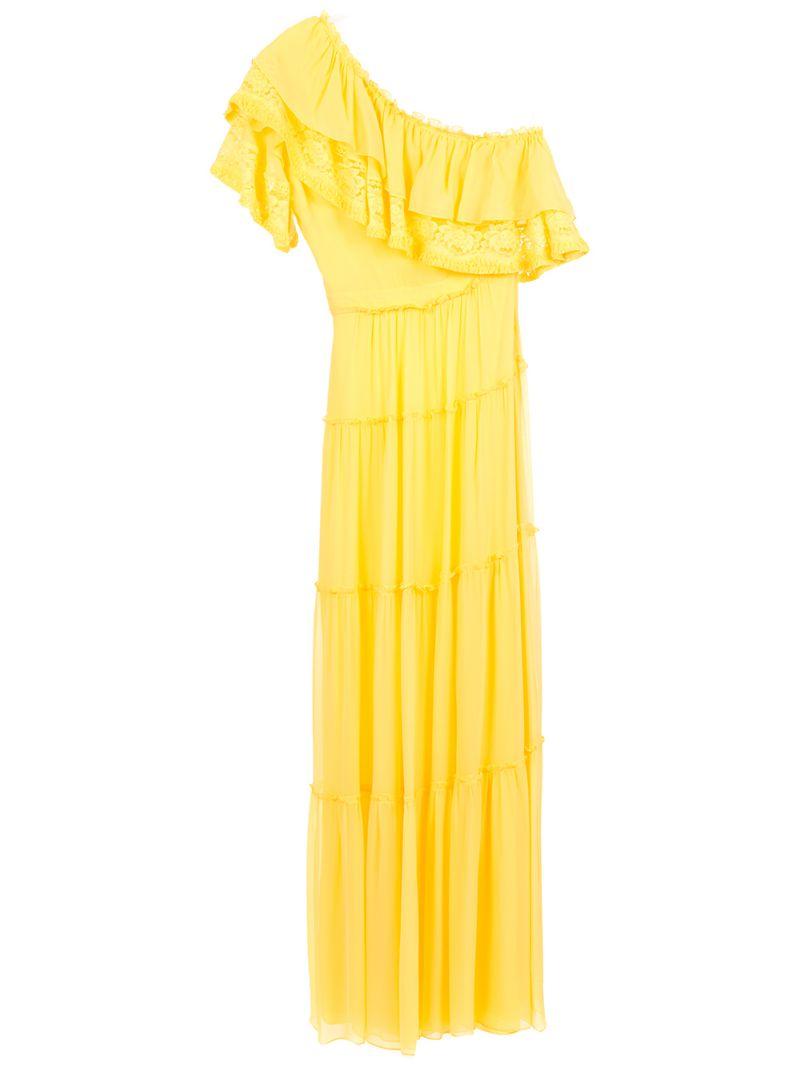 Nk | длинное платье на одно плечо | Clouty