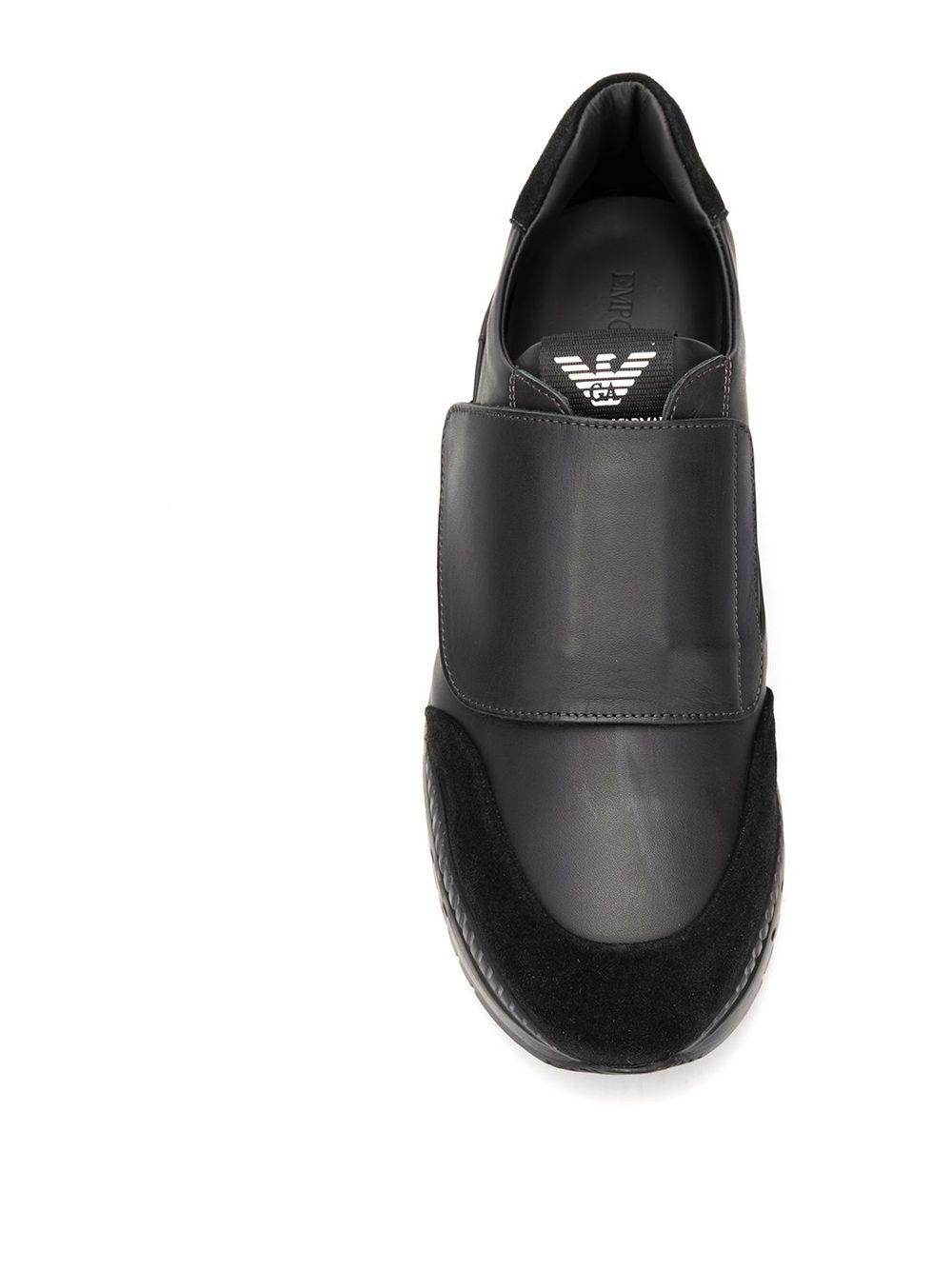 Emporio Armani | кроссовки на липучке | Clouty