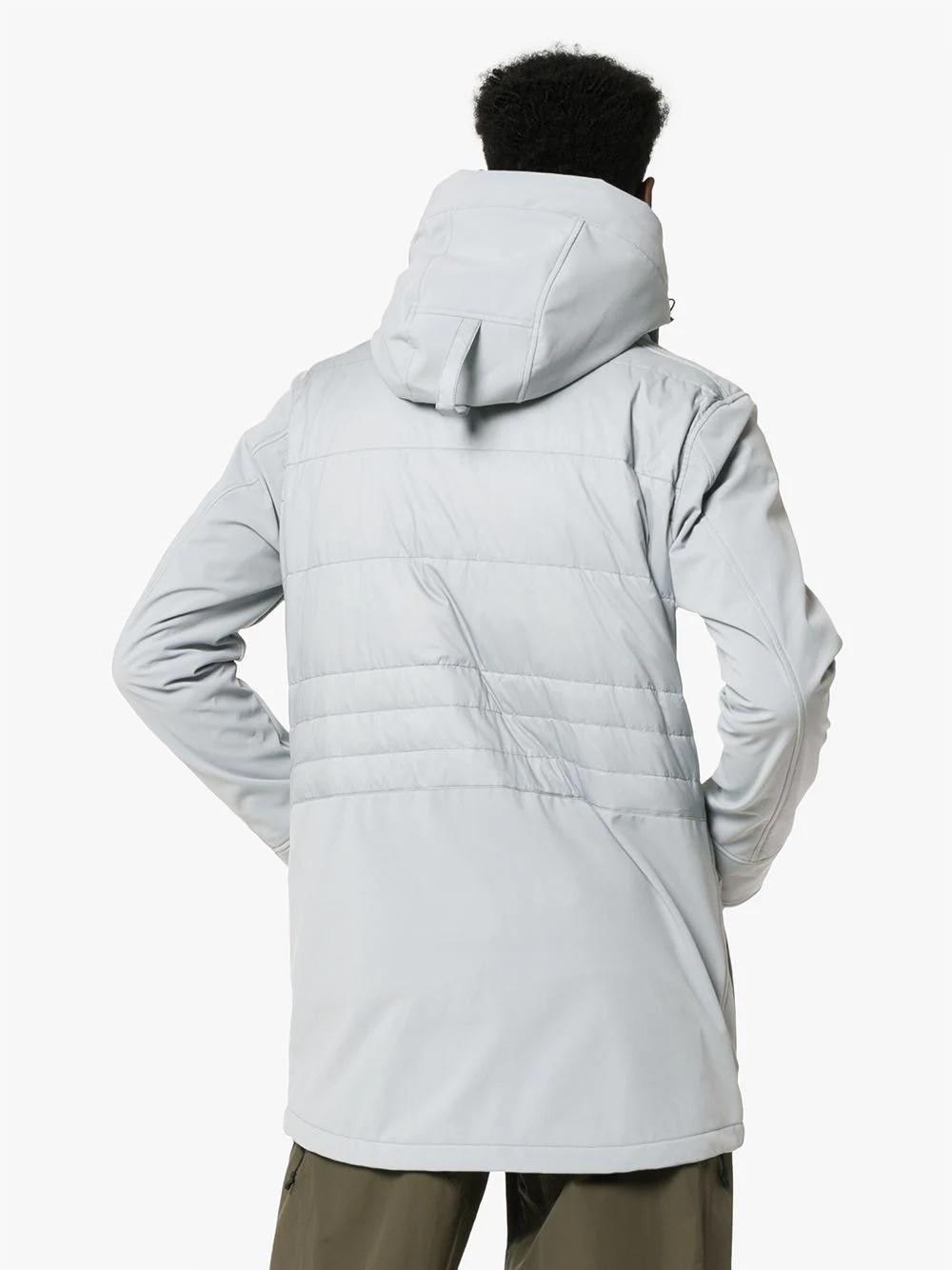 CANADA GOOSE | куртка-пуховик Breton с капюшоном | Clouty
