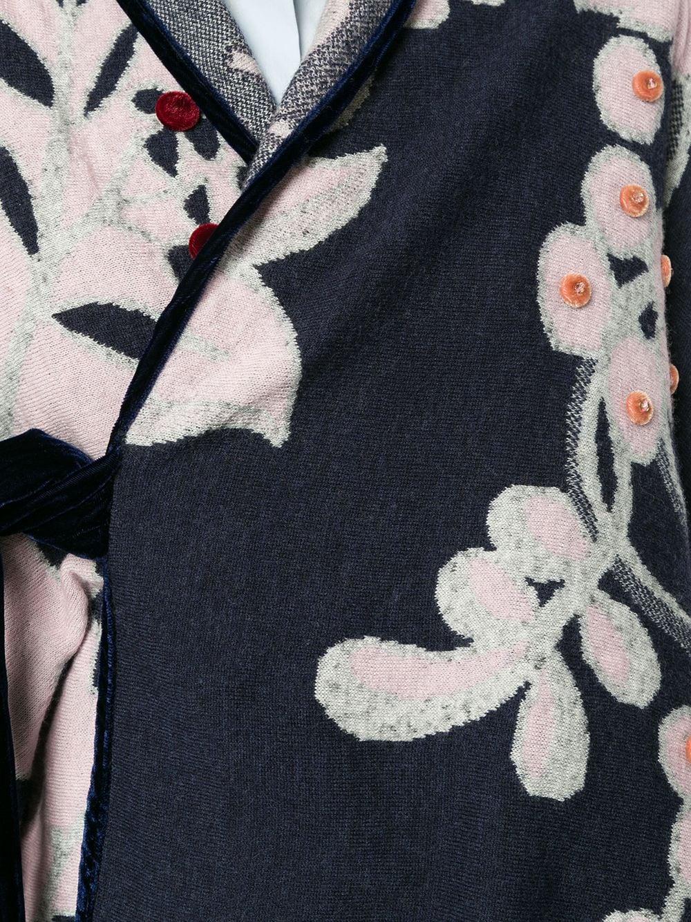 Onefifteen | Onefifteen жакет свободного кроя с цветочным принтом | Clouty