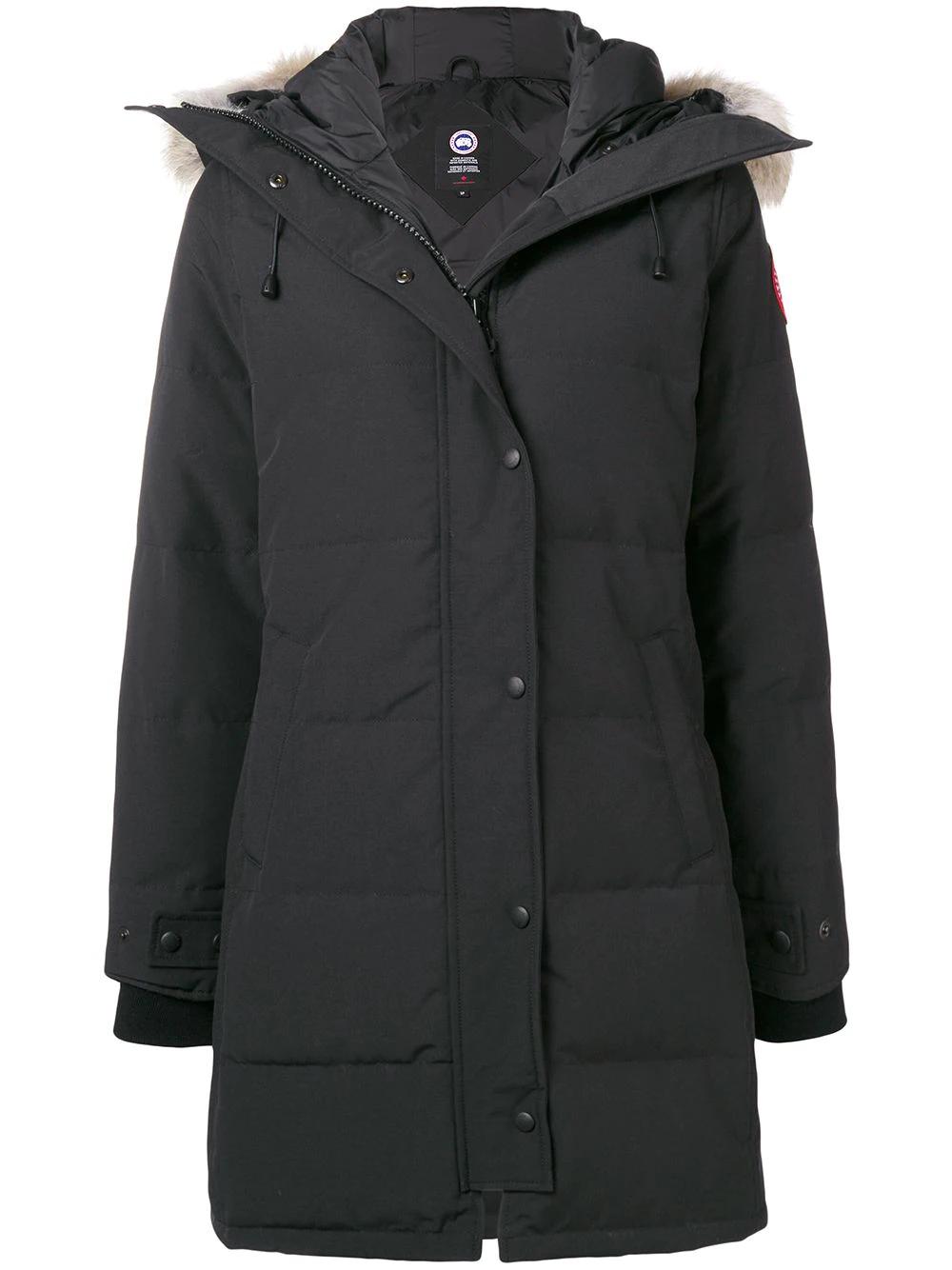 CANADA GOOSE | пальто средней длины с капюшоном | Clouty
