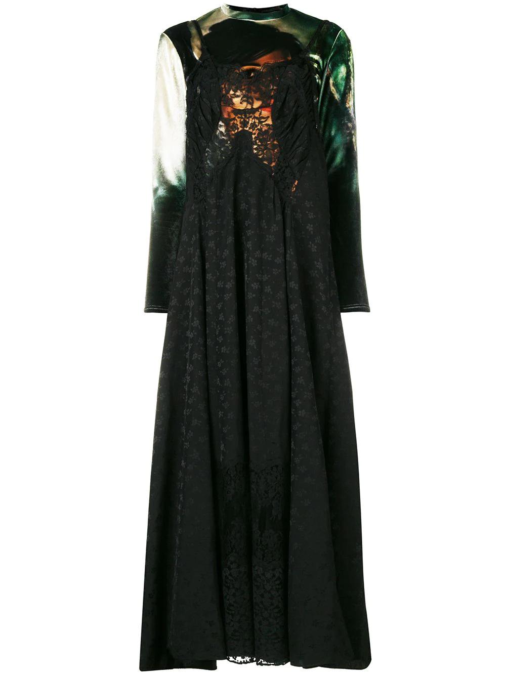 Stella McCartney   длинное платье   Clouty