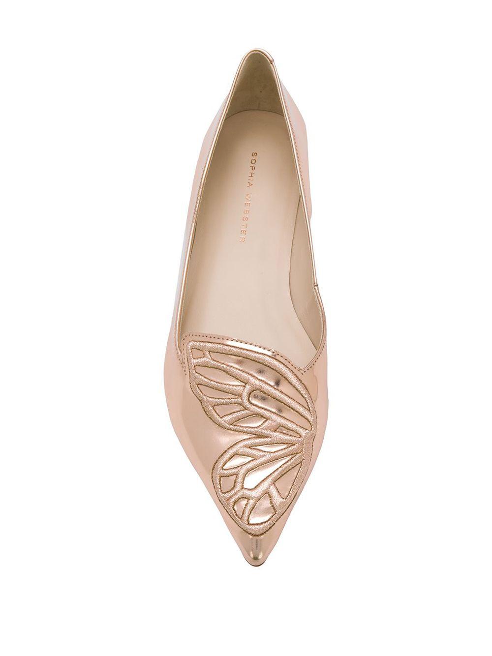 SOPHIA WEBSTER   балетки 'Bibi' с декором в виде бабочки   Clouty