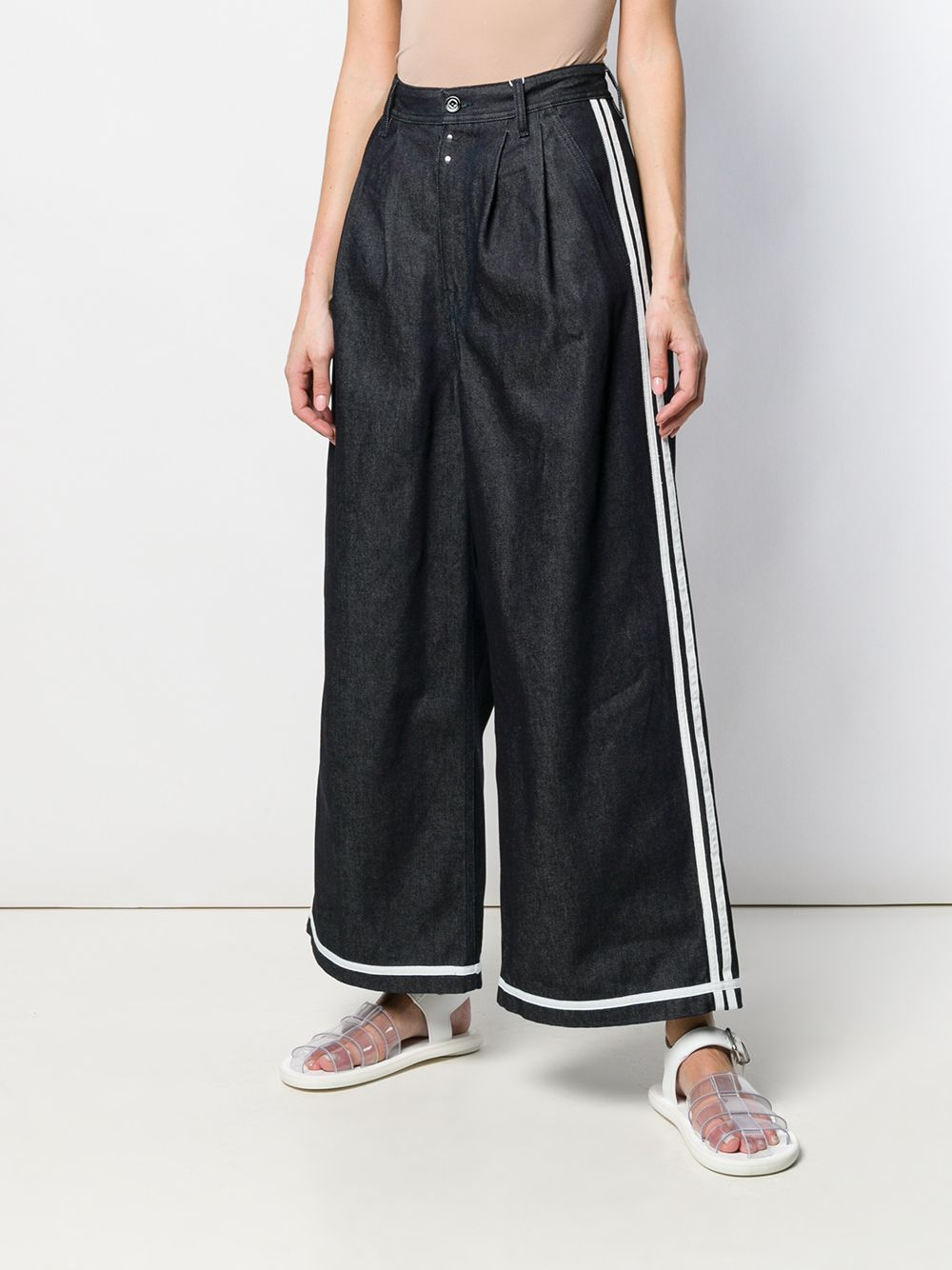 MM6 Maison Margiela   широкие джинсы   Clouty