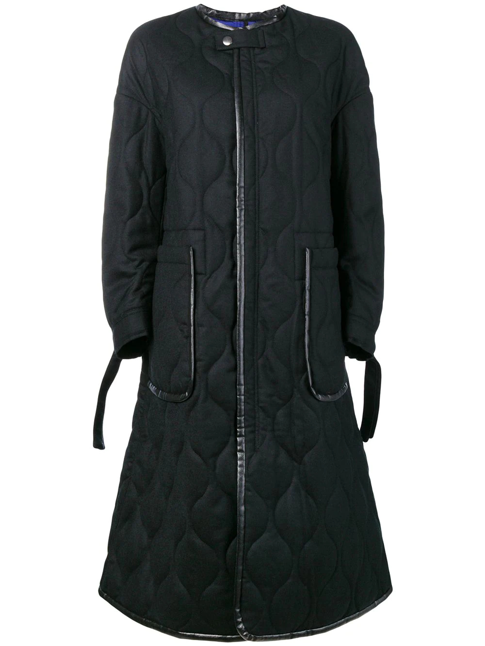 Ujoh | пальто без воротника | Clouty