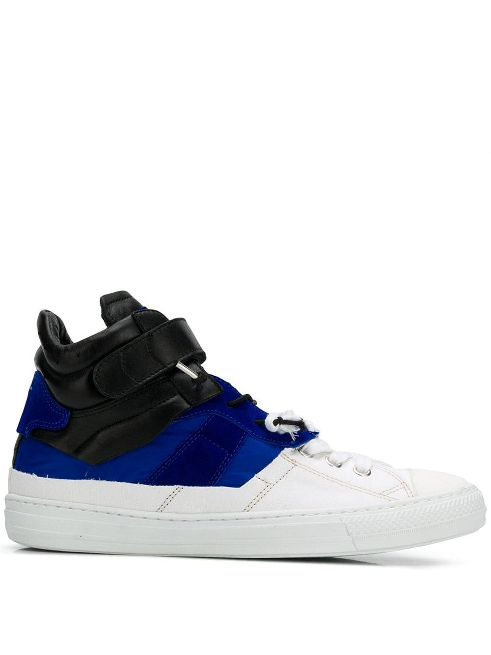 Maison Margiela | кроссовки с контрастной шнуровкой | Clouty