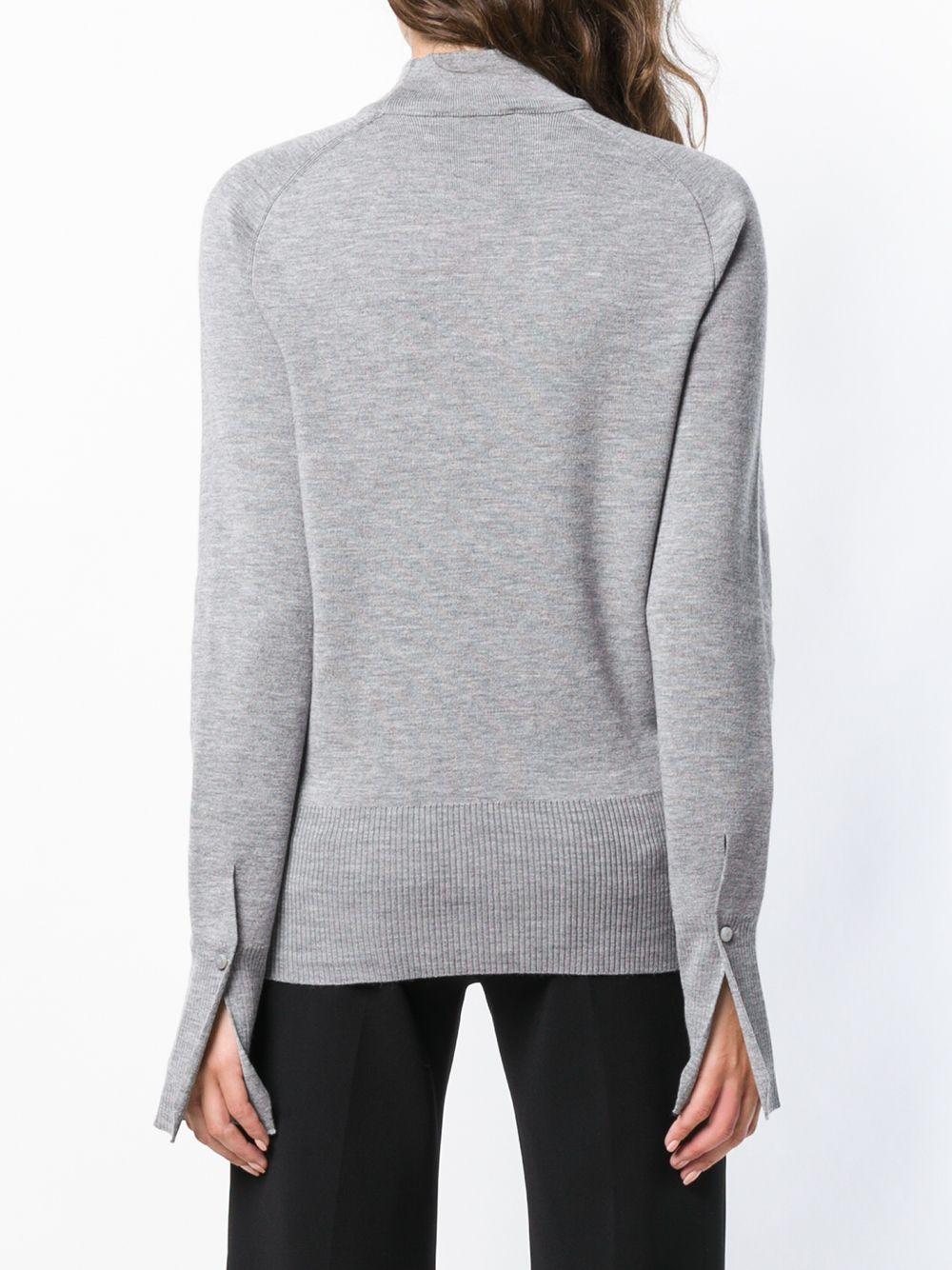 Chloé   свитер с воротником с вырезной деталью   Clouty