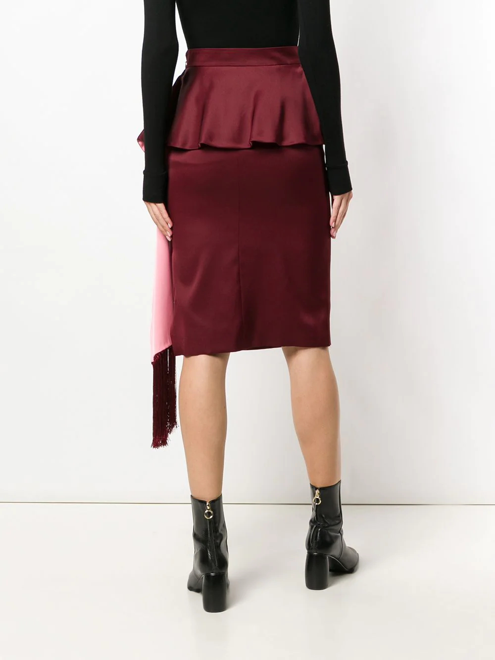 Alexander McQueen   плиссированная юбка миди   Clouty
