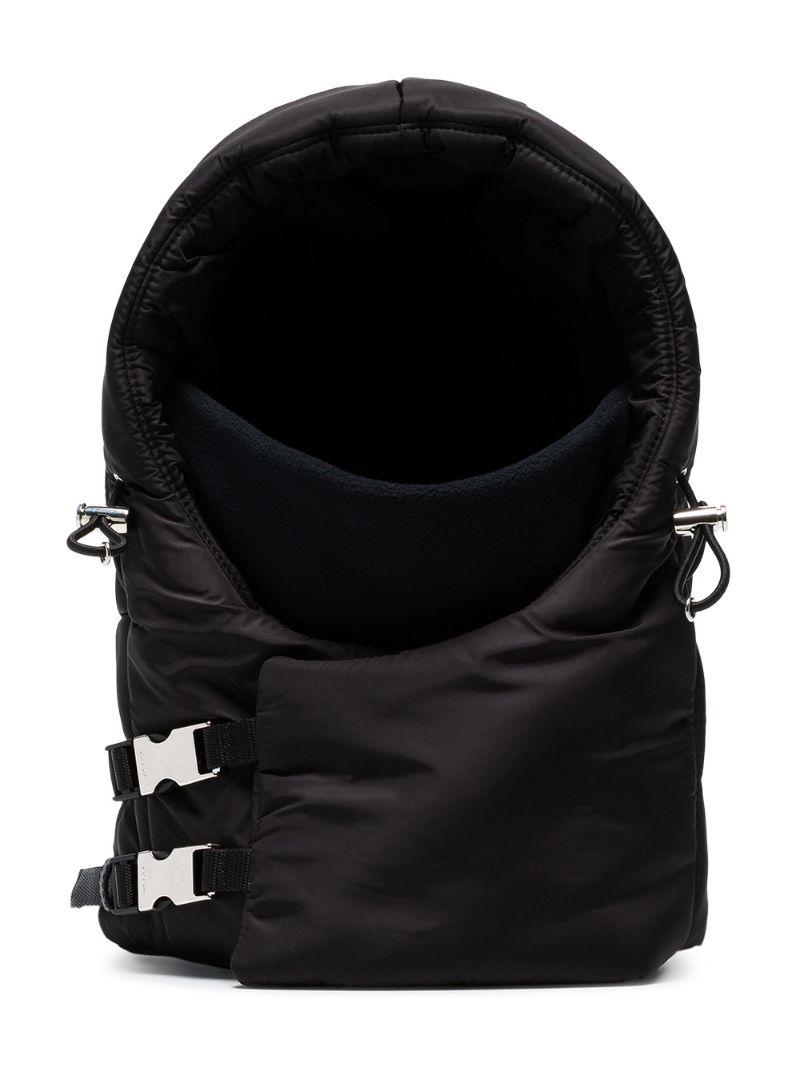 PRADA | дутый капюшон со шнурком | Clouty