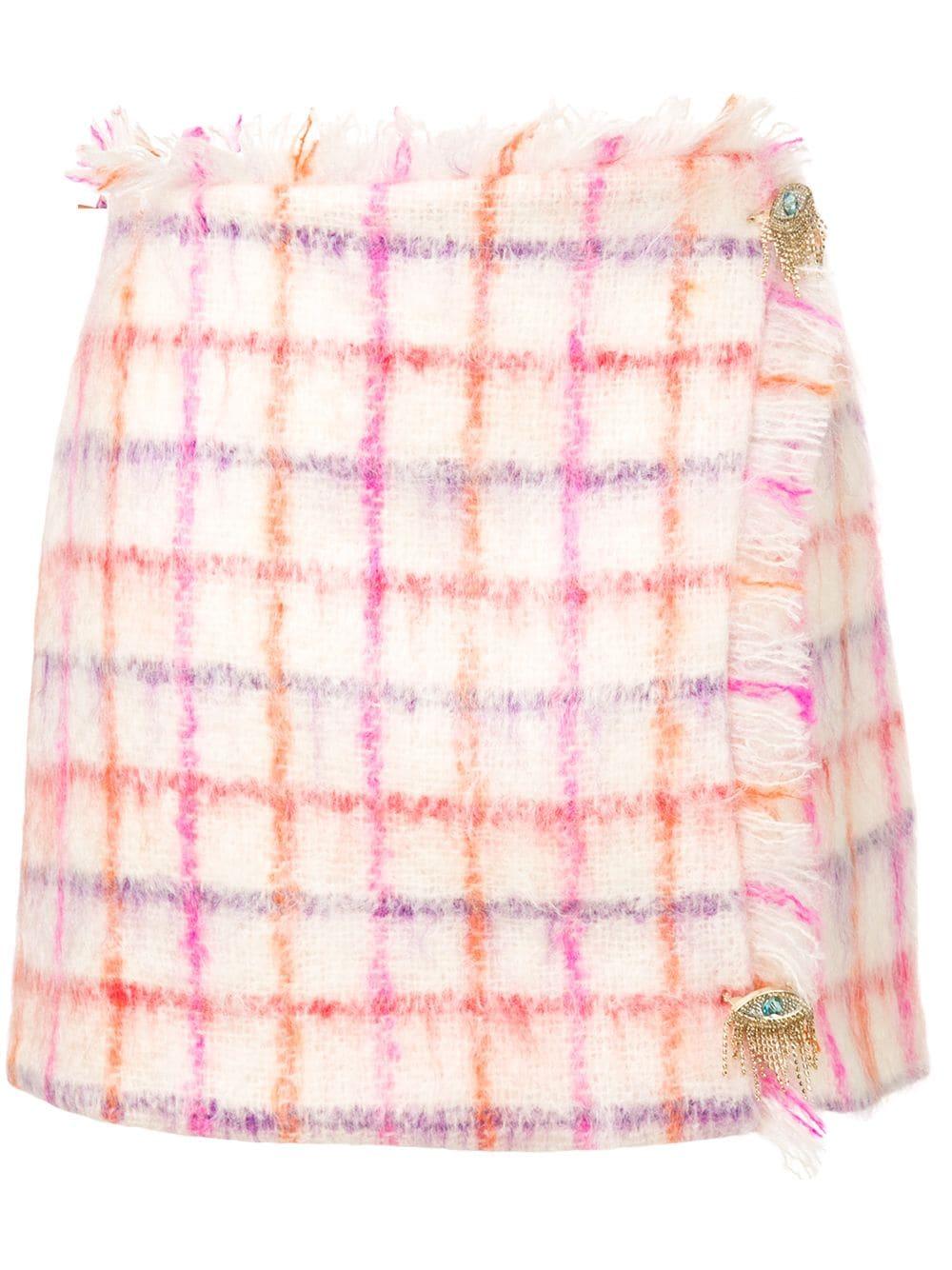 Vivetta | мини-юбка в клетку | Clouty