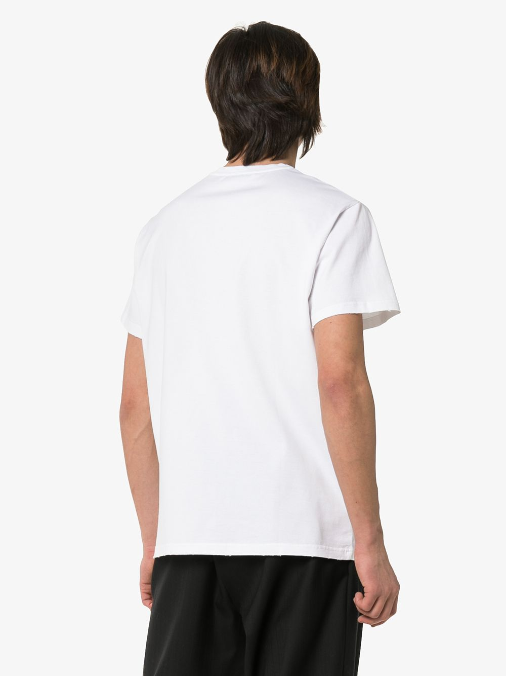 GIVENCHY | футболка с размытым логотипом | Clouty