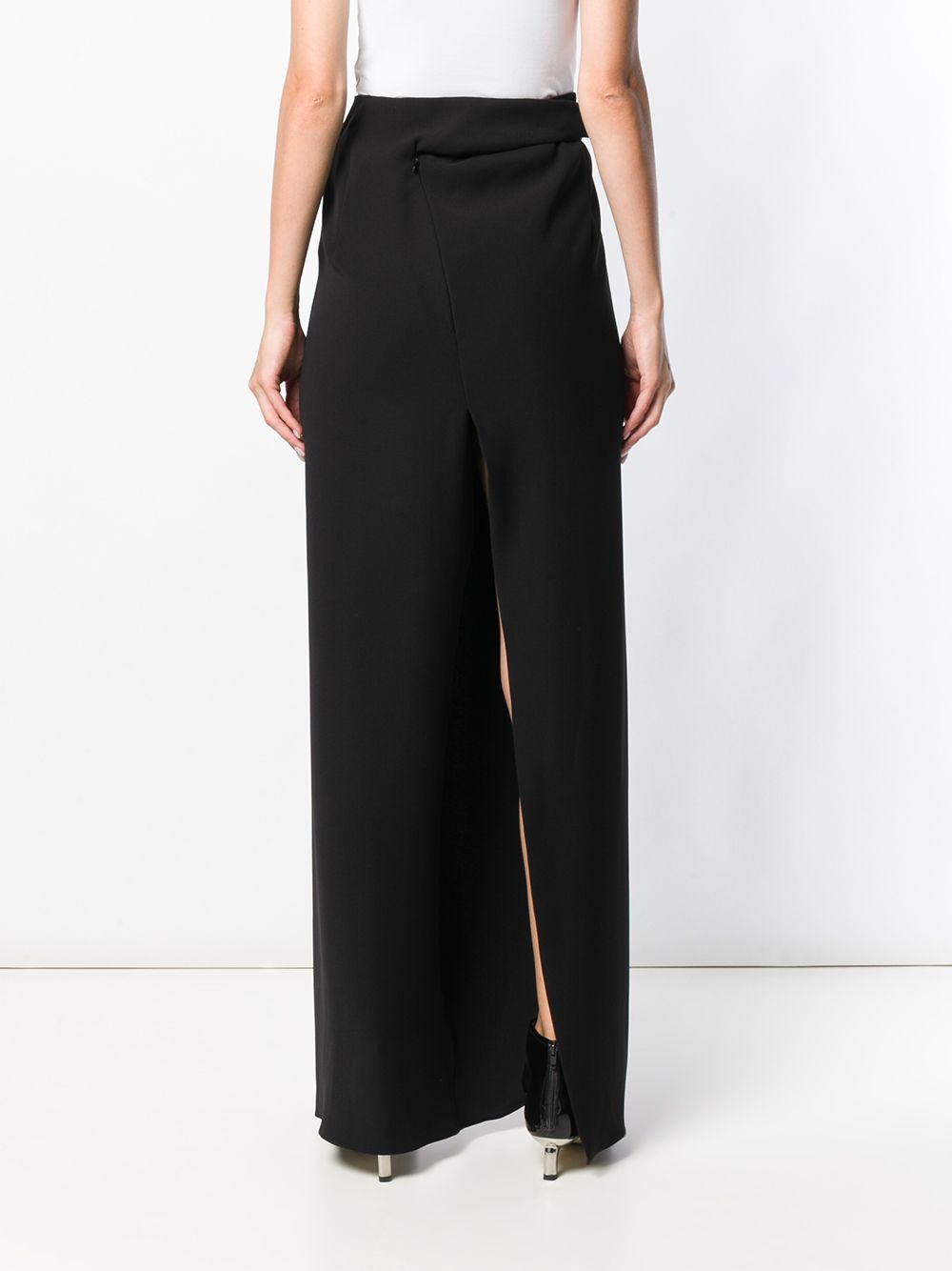 Poiret | front slit skirt | Clouty