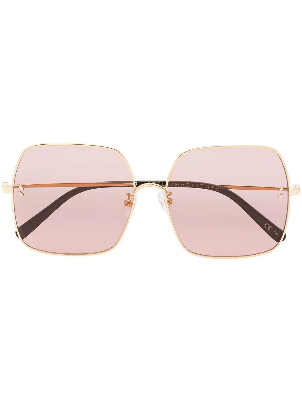 Stella McCartney | солнцезащитные очки в квадратной оправе | Clouty