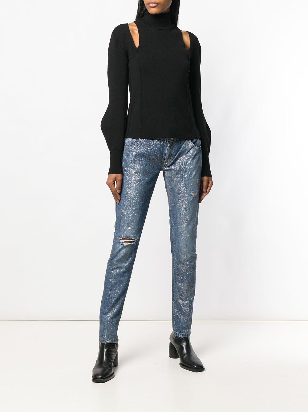 Faith Connexion | джинсы с блестками | Clouty