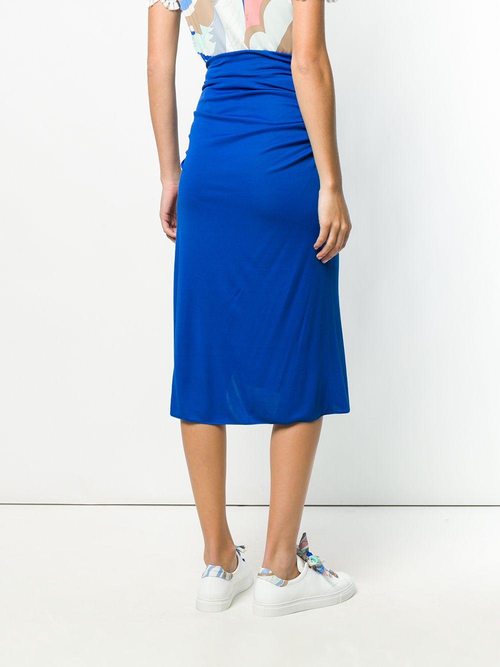 Emilio Pucci | юбка со сборками | Clouty