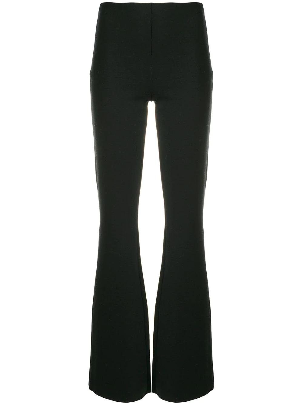 MOSCHINO | трикотажные брюки клеш | Clouty