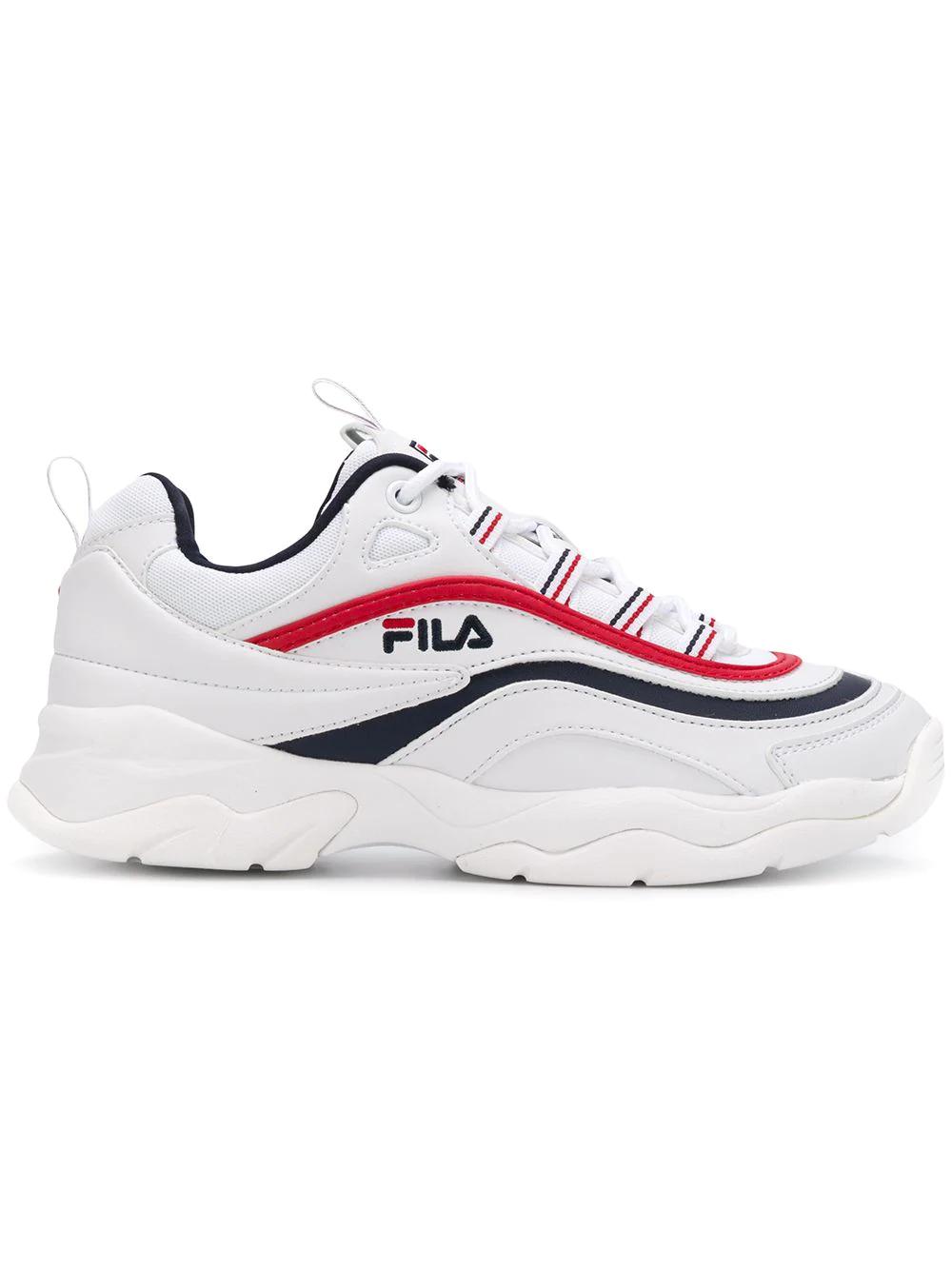 FILA | кроссовки 'Ray' на шнуровке | Clouty