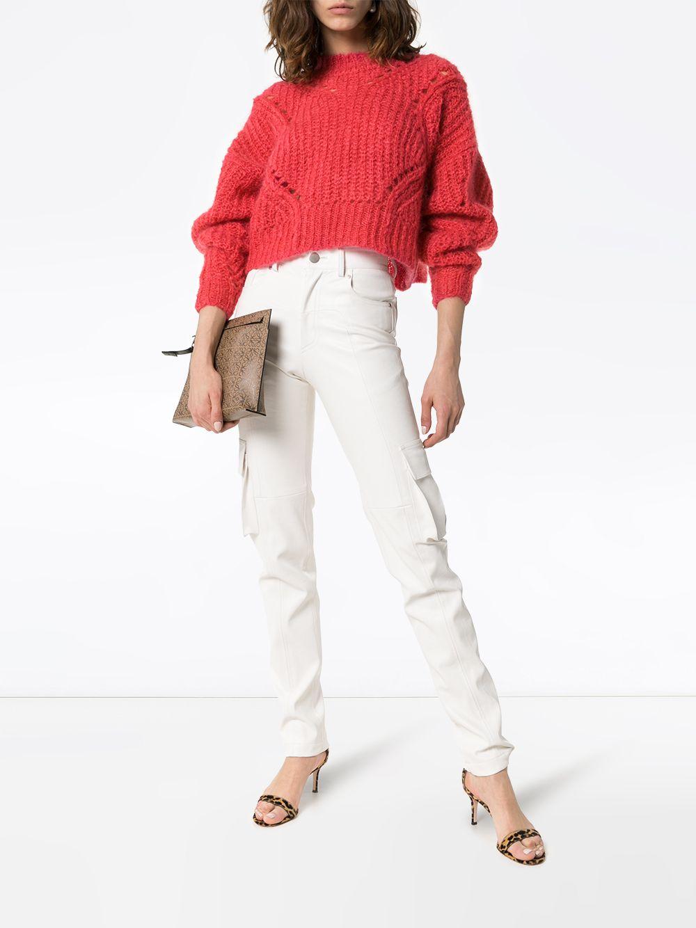 Isabel Marant | укороченные трикотажные брюки Iroen | Clouty