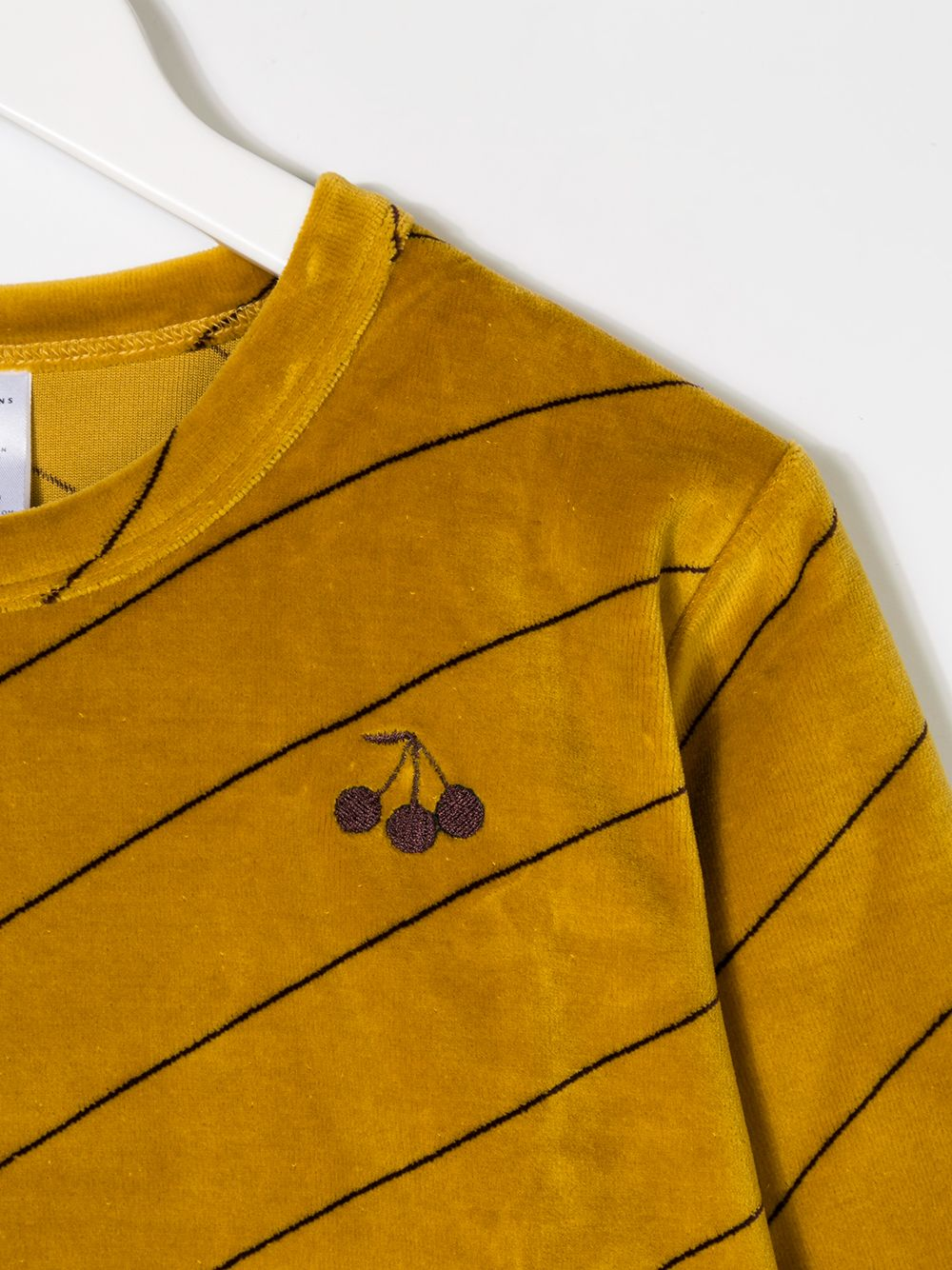 Tiny Cottons | Tiny Cottons футболка с длинными рукавами в диагональную полоску | Clouty