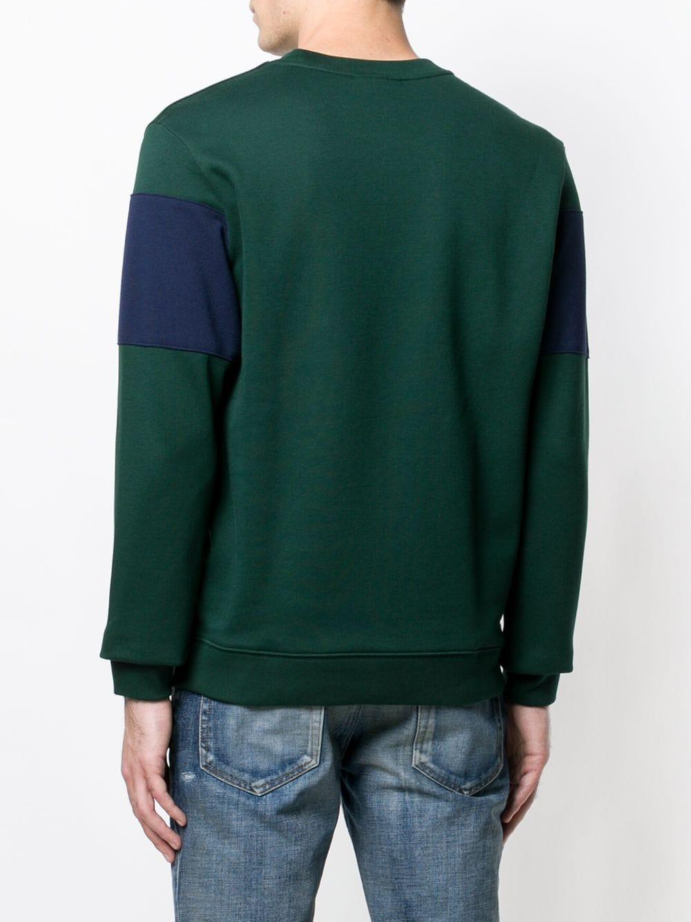 Lacoste | свитер в полоску с круглым вырезом | Clouty
