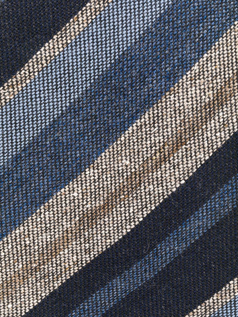 Brioni   галстук в диагональную полоску   Clouty