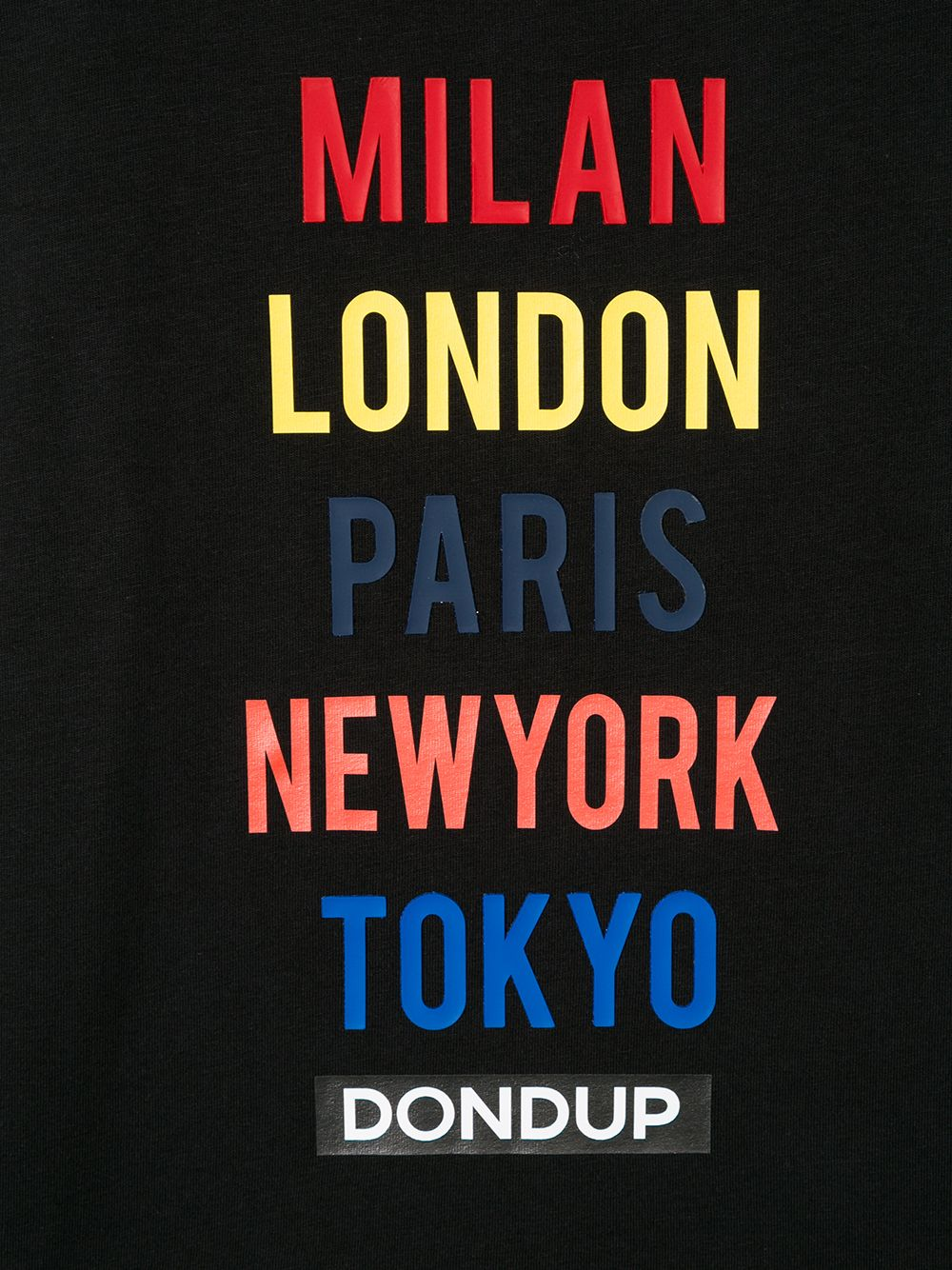 Dondup Kids | Dondup Kids футболка с длинными рукавами и принтом | Clouty