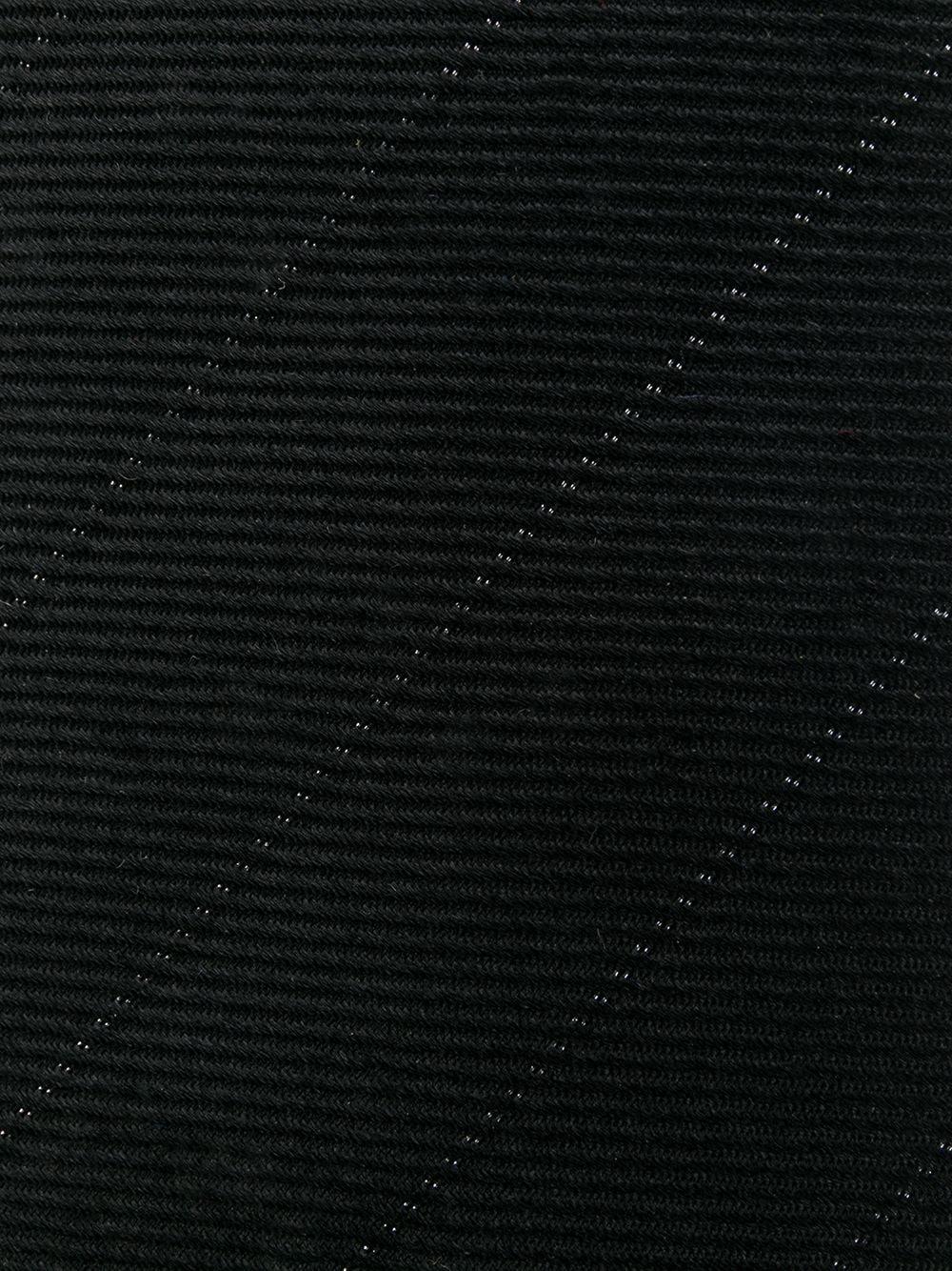 SAINT LAURENT | Saint Laurent галстук в диагональную полоску | Clouty