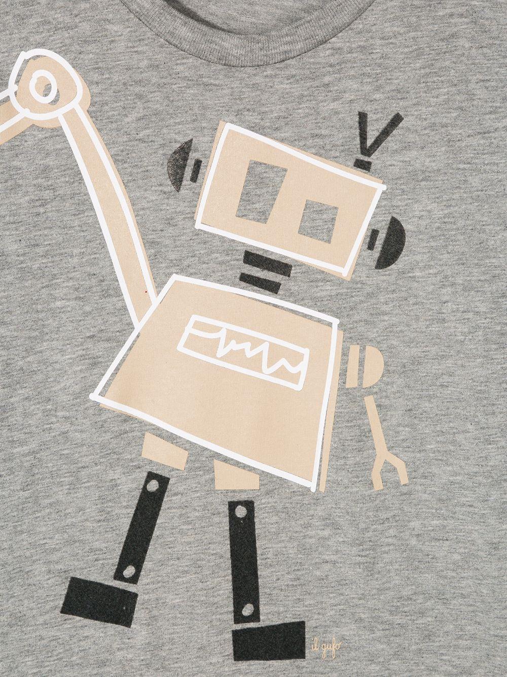 Il Gufo | Il Gufo футболка с принтом и длинными рукавами | Clouty