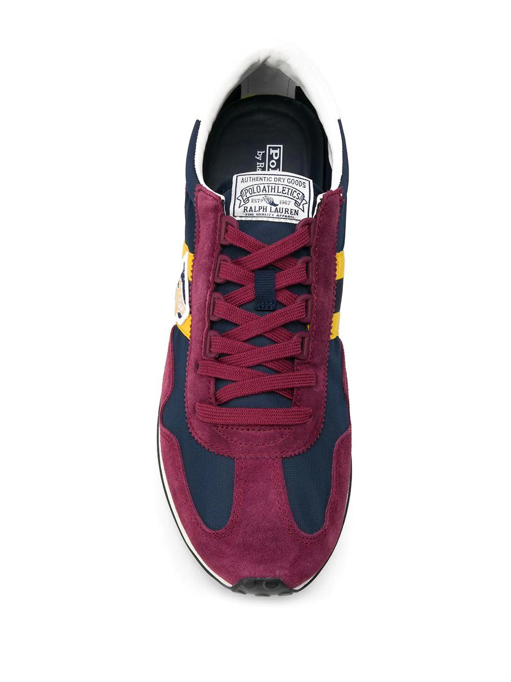 POLO RALPH LAUREN | кроссовки с логотипом и вставками | Clouty