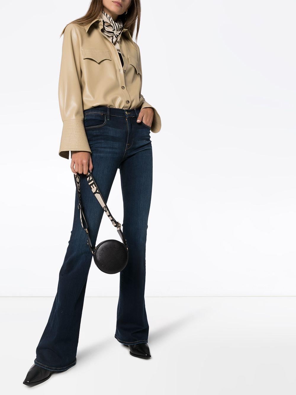 Frame | FRAME расклешенные джинсы Le High с завышенной талией | Clouty