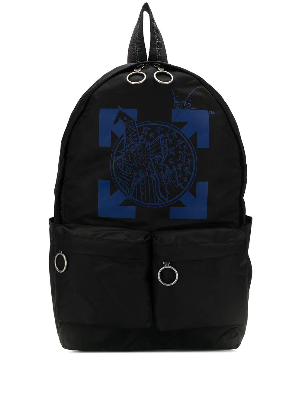 Off-White | рюкзак с логотипом | Clouty