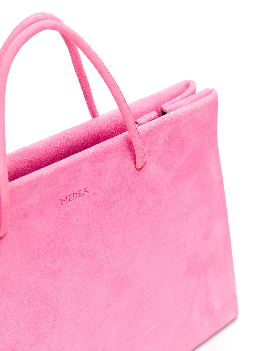 Medea | embossed logo tote | Clouty
